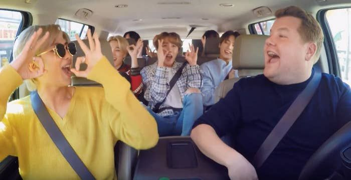 BTS Finally Did Carpool Karaoke And Even Cardi B Is Impressed