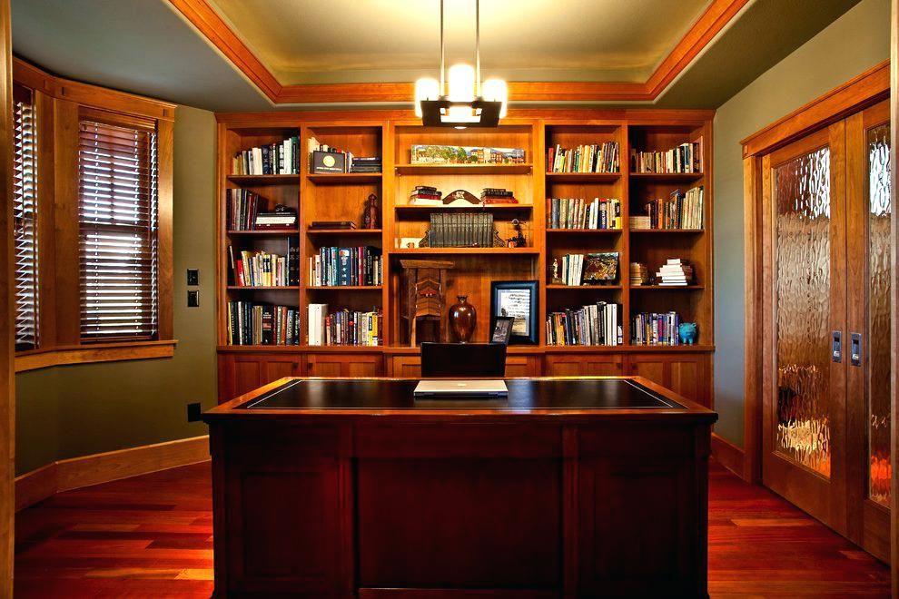 craftsman bookshelves home office built in ideas home office rh pinterest com craftsman bookshelf plans Craftsman Fireplace