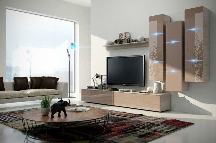 115 schöne Ideen für Wohnzimmer in Beige! Pinterest