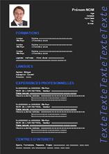 Exemple De Cv Original A Telecharger Gratuit Au Format Word Modele Cv Modele De Cv Original Exemple De Cv Etudiant