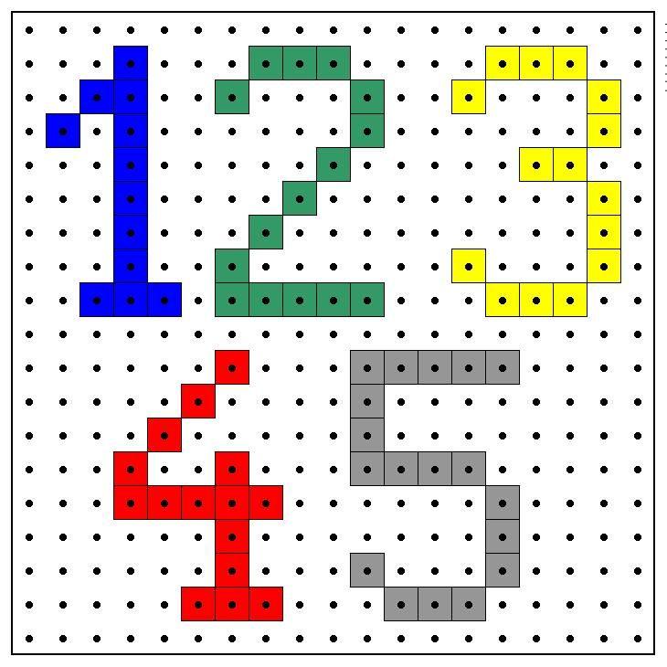 wb kralenplank cijfers 12345.JPG (730×730)   Hama beads, minecraft ...