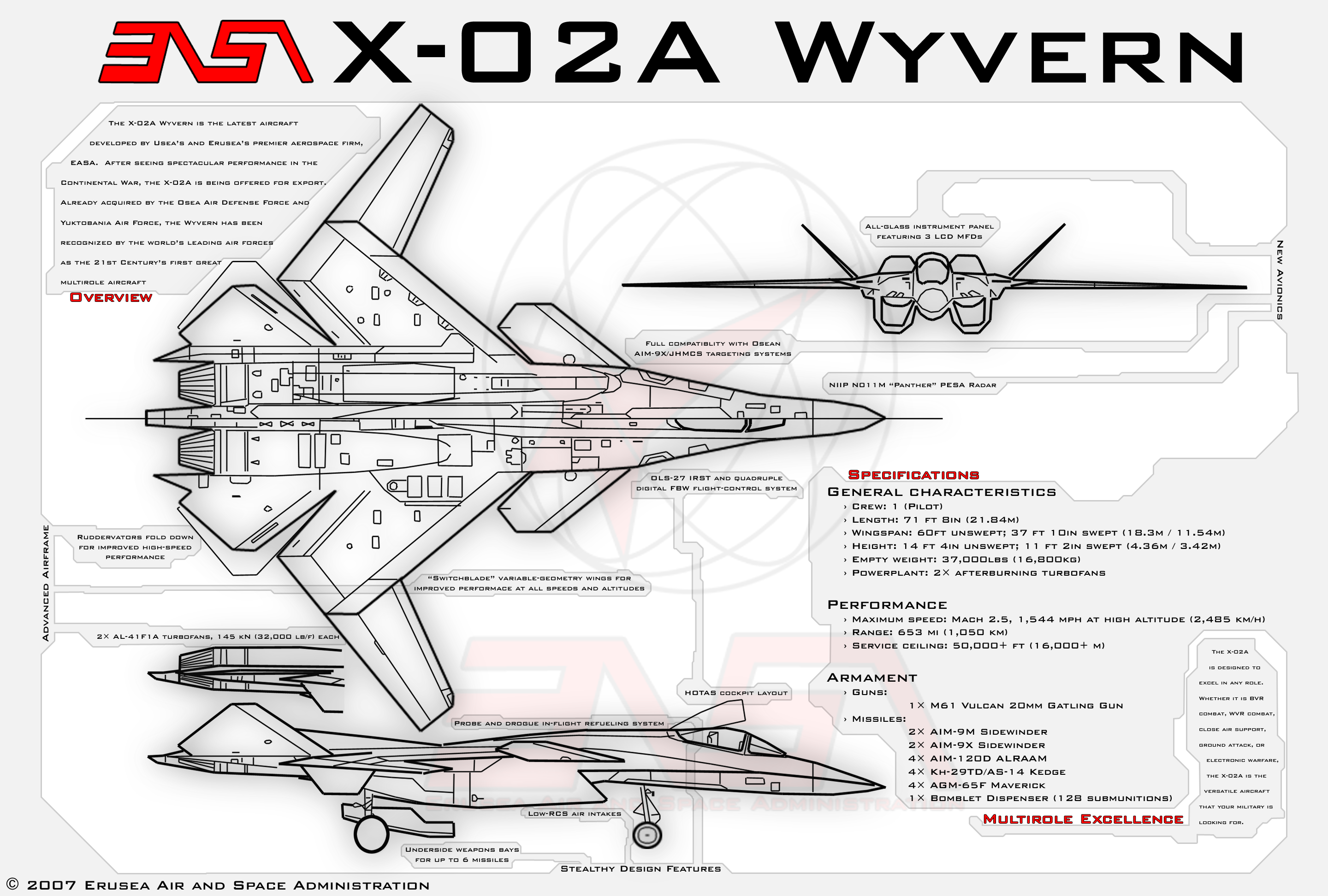 X 02a Wyvern Poster By Ms 06fviantart On