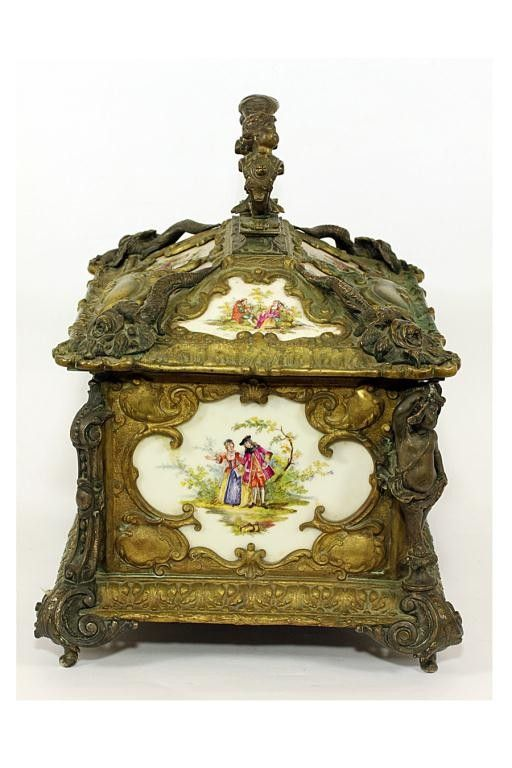 ANTIQUE FRENCH JEWELRY BOX Jewelry Boxes Victorian Antique