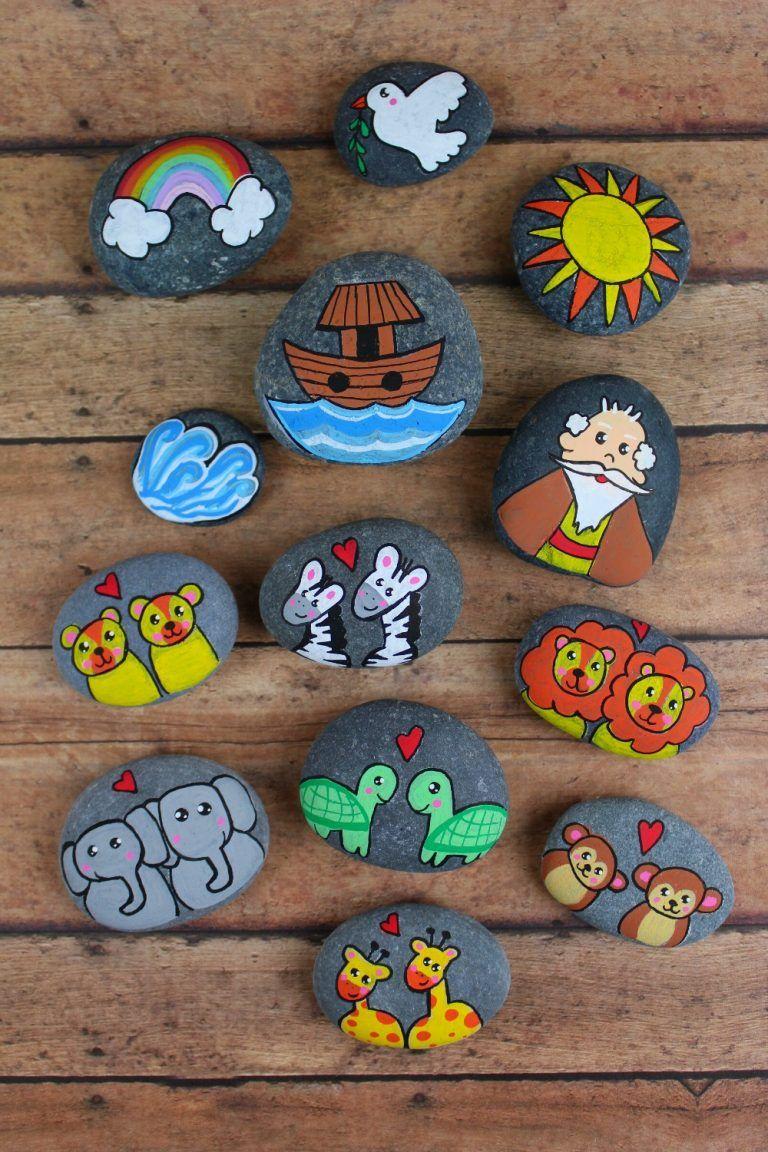 Photo of Story Stones Inspiration – Noah's Ark