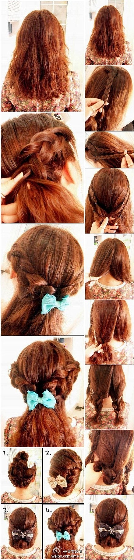 Some examples of what you can do with braided hair referenced