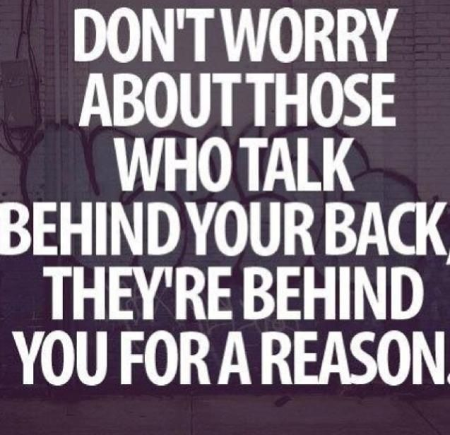 Don't worry....