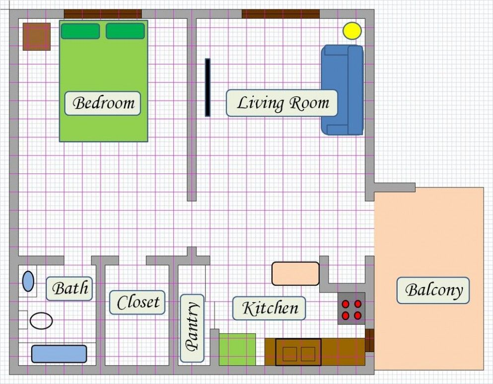 Bathroom Design Floor Planner