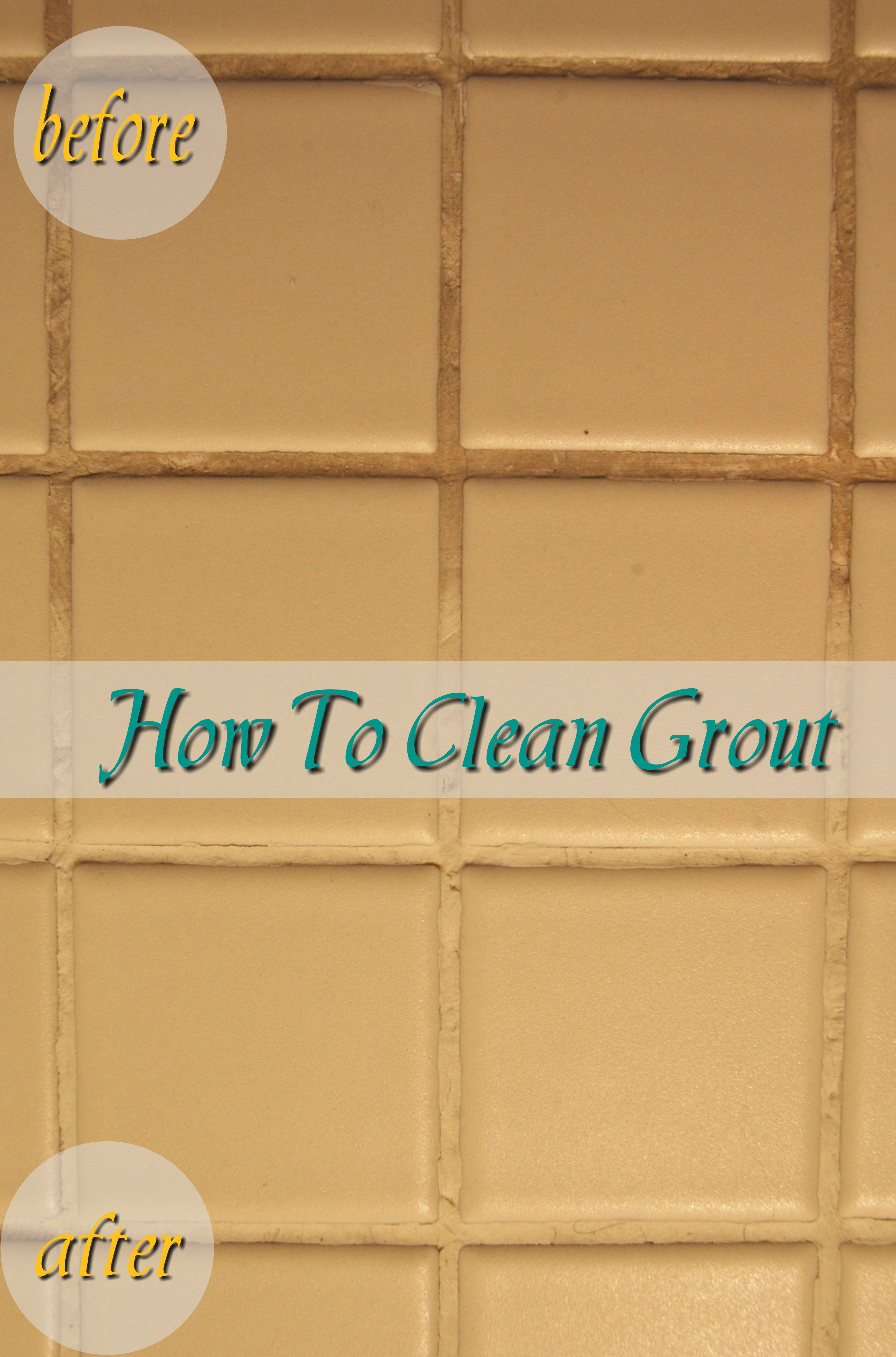 How To Clean Grout When I Get The Time Pinterest Tile