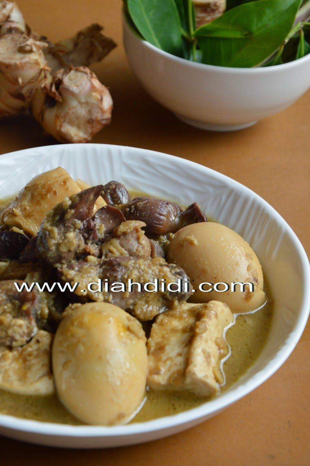 Blog Diah Didi Berisi Resep Masakan Praktis Yang Mudah Dipraktekkan Di Rumah Resep Masakan Indonesia Resep Masakan Makanan Dan Minuman