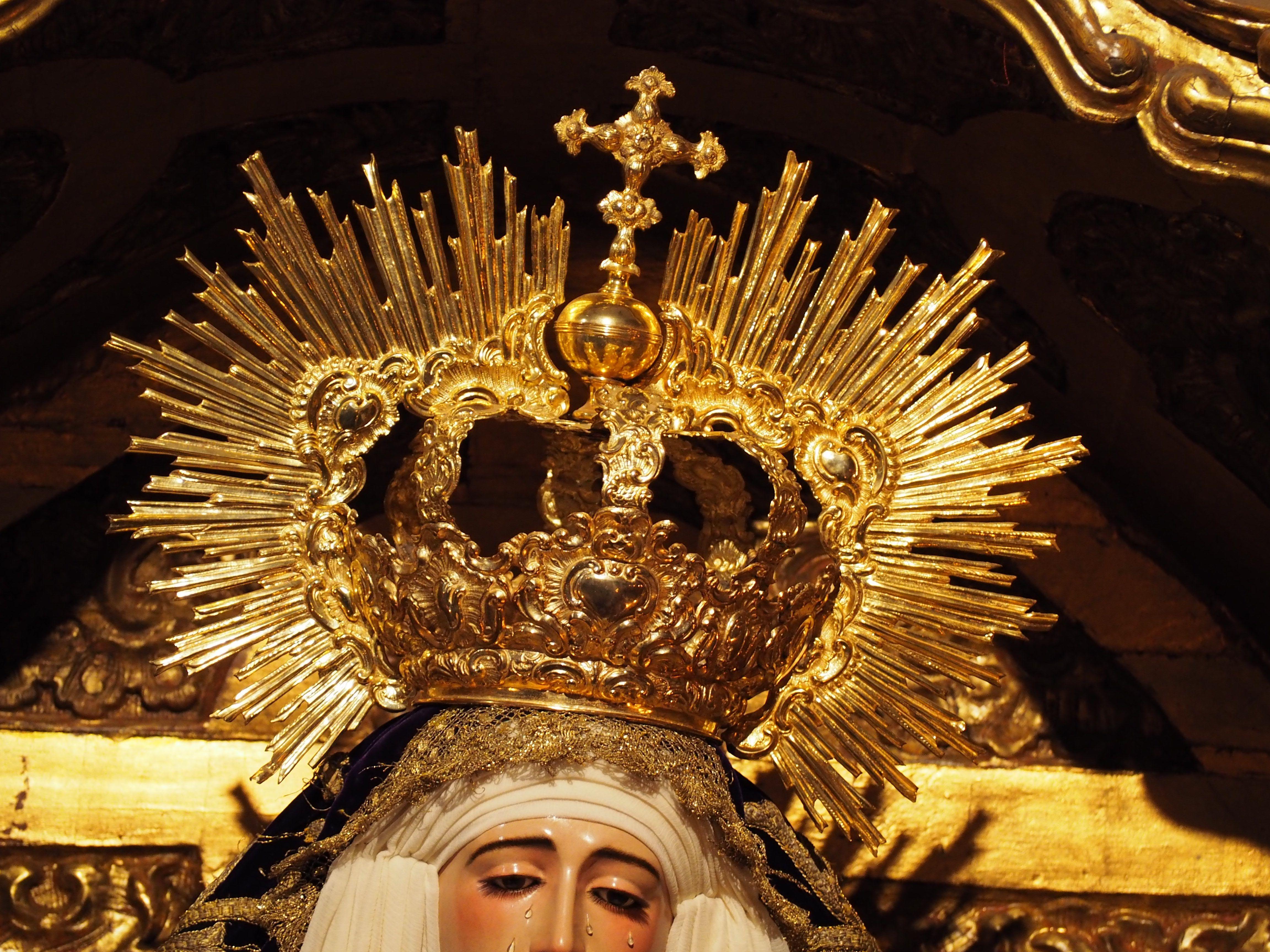Virgen De Loreto Hermandad De San Isidoro Sevilla Loreto
