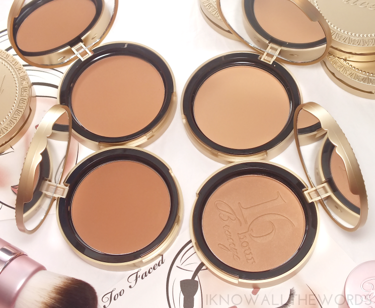 Too Faced The Ultimate Bronzer Wardrobe Bronzer, Too