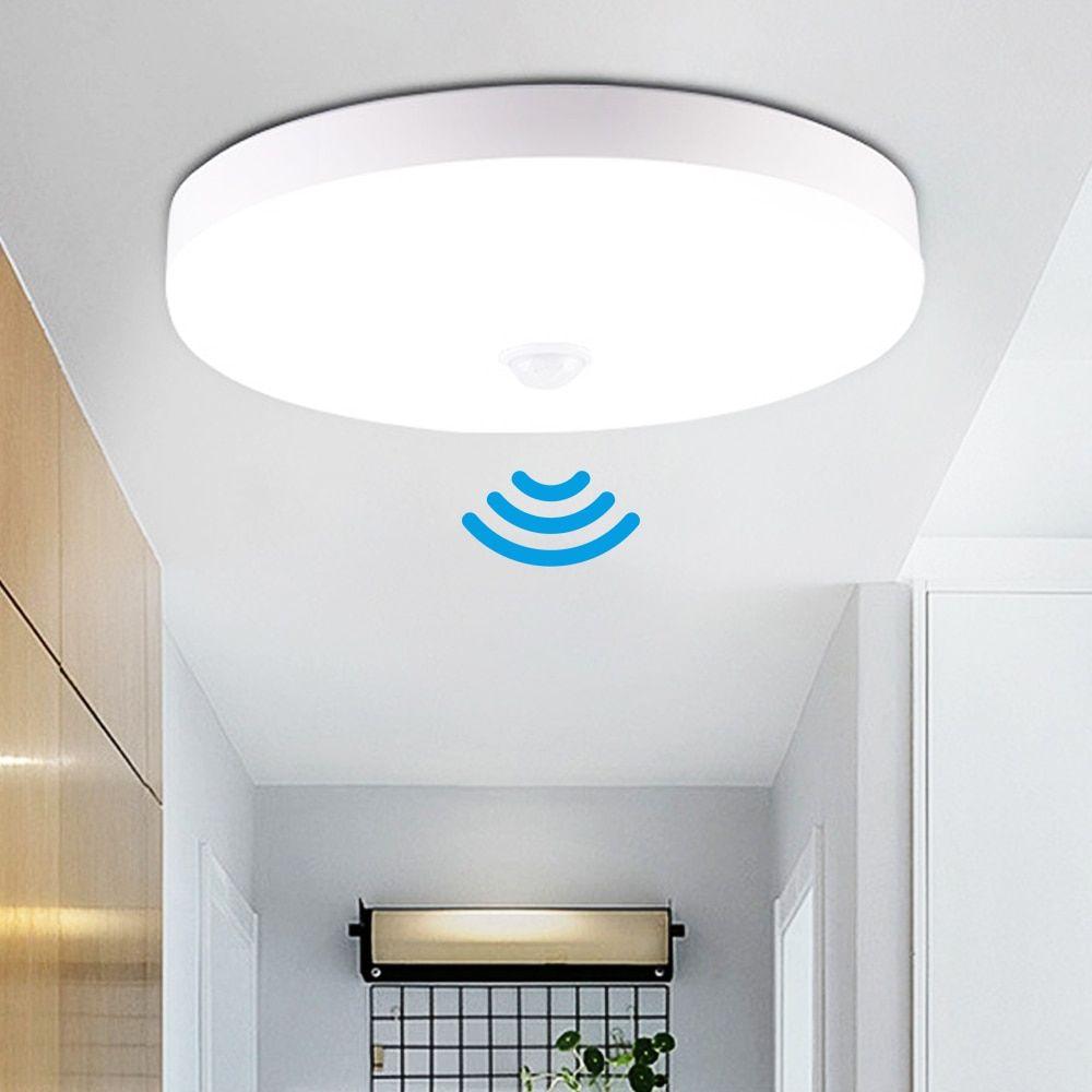 Usd 9 92 Buy Led Radar Induction Motion Sensor Ceiling Light 12w 18w Modern Ceiling Lamp Surface Lighting Fixture Living Room Hallway Lights Lighting Pric In 2021 Ceiling Lights Modern Ceiling Motion sensor ceiling light fixture