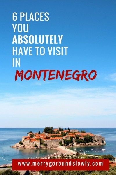 6 Best places in Montenegro: A list of best places to visit in Montenegro, including Kotor, Budva, Ulcinj Velika Plaza Beach, Lake Skadar, Durmitor and the Black Lake. #montenegro #balkans #budva #kotor #durmitor #europe #travel #inspiration