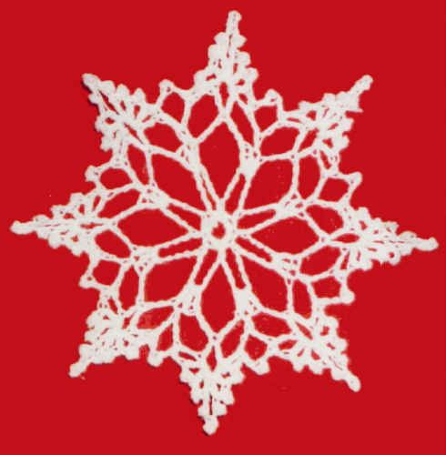 Free Crochet Snowflakes Patterns Free Crochet Snowflake