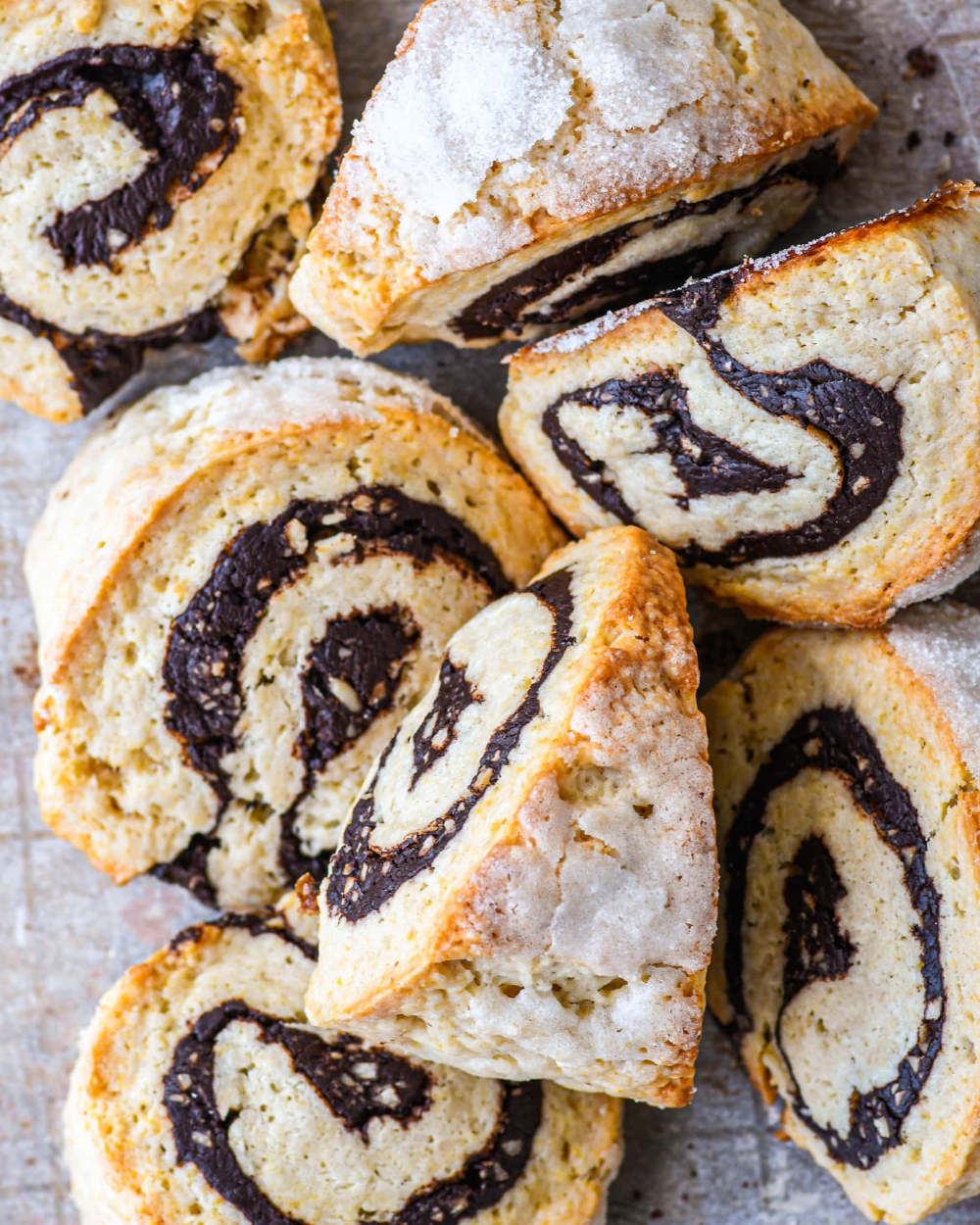 Babka Style Scones Chocolate Hazelnut Buttermilk By Sam Recipe In 2020 Chocolate Hazelnut Scones Nyt Cooking