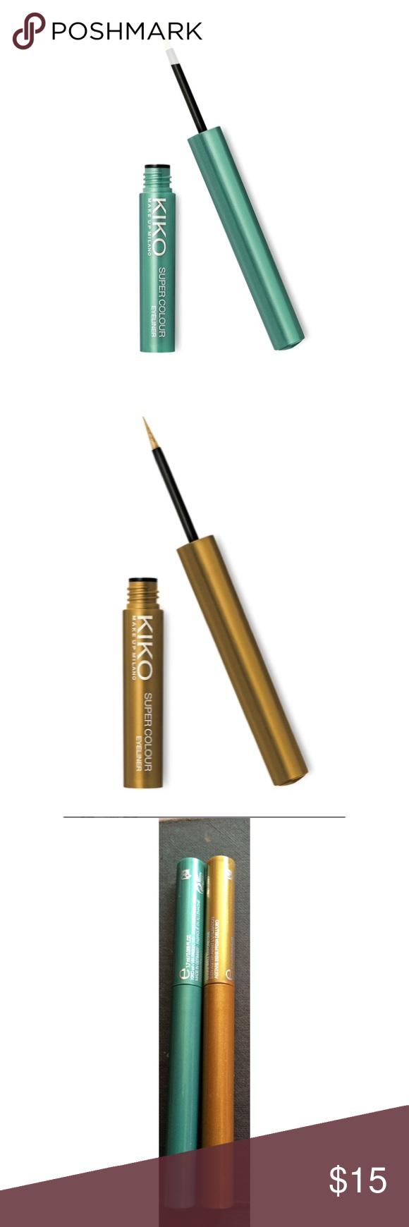 KIKO cosmetics super color eyeliner💋 105 and 101 Brand new