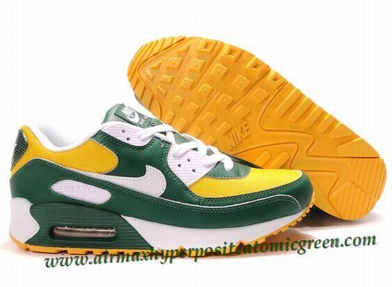 Nike Air Max 1 Yellow Green White 309299 603 | Nike air max