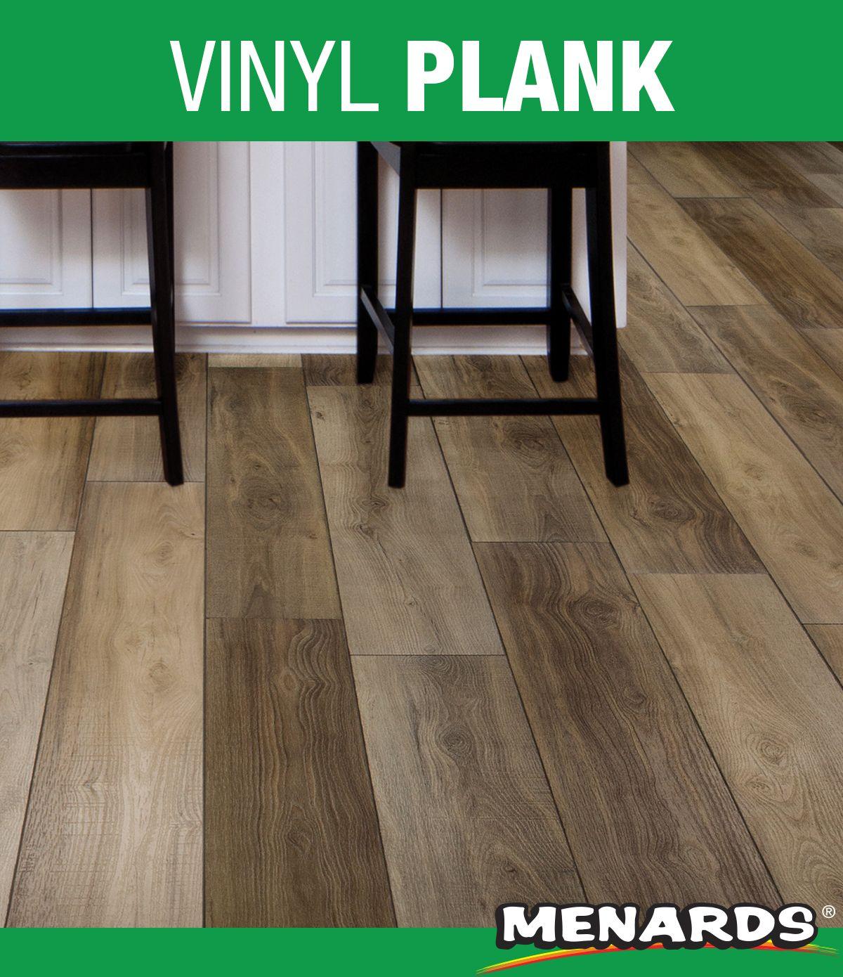 SuperFast® BayRock vinyl planks feature a unique rigid