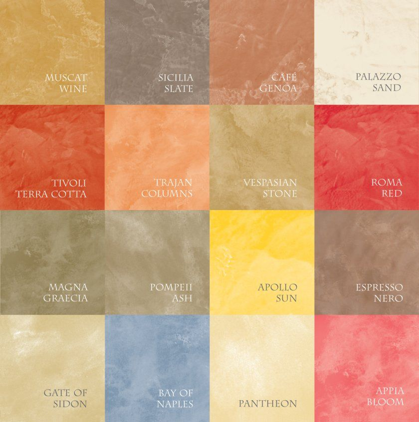 Unique Venetian Plaster Colors 2 Behr Color Chart