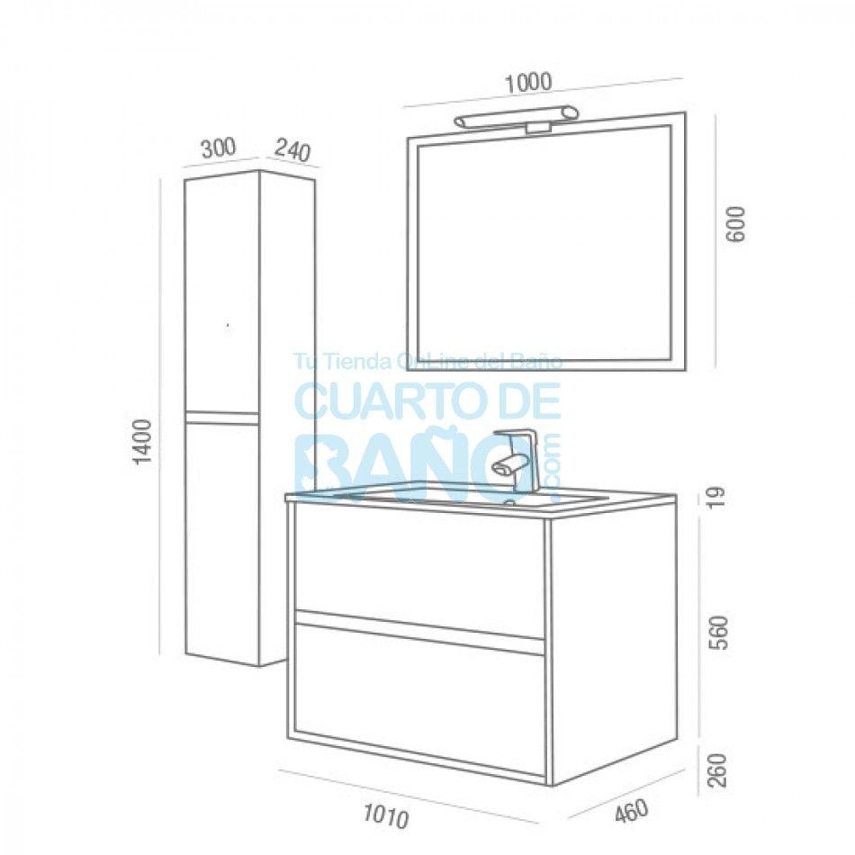 Resultado De Imagen Para Altura De Muebles De Baño Muebles De Baño Muebles Baños Medidas