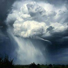 Tornado near Stillwater, Oklahoma. May 2016