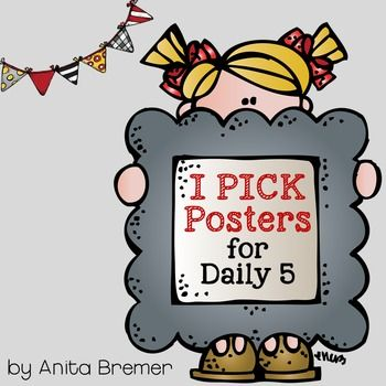 These classroom posters will help your students remember how to choose books that are a 'good fit' just for them! The posters may be used in conjunction with the Daily 5 program. Even if you do not do the Daily 5 program, the posters are perfect anchor