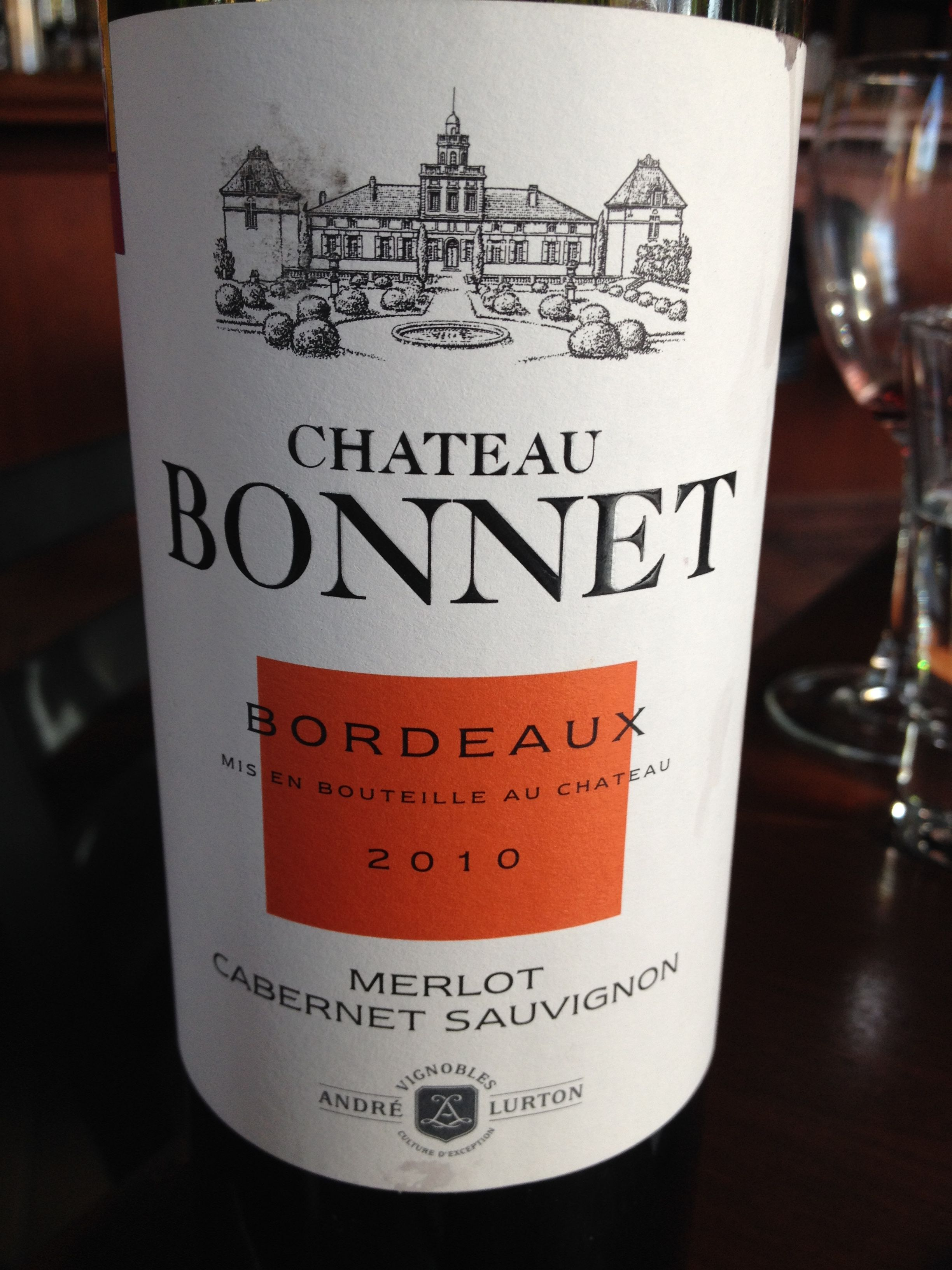 2010 Chateau Bonnet Bordeaux Merlot Cab Sauv Ruby Red In Color Powerful Aromas Of Baked Apple Initially On Th Red Delicious Apples Baked Apples Red Fruit