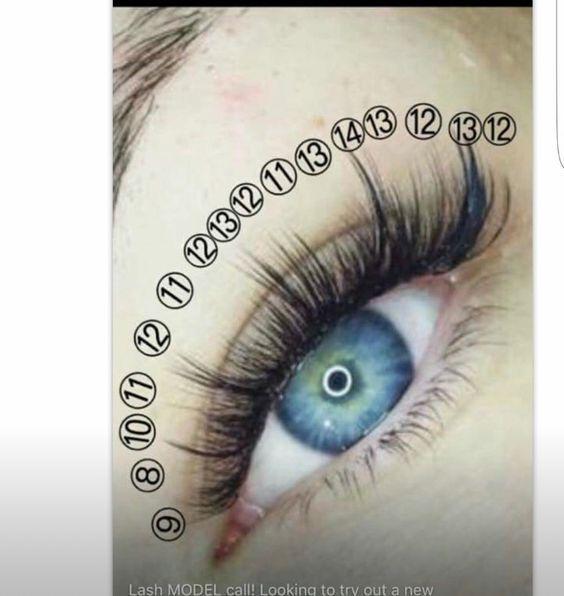 Professional Eyelash Extension Kit Eyelashes Russian Volume Lashes
