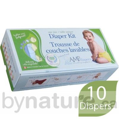 AMP One-Size Cloth Diaper Kit, Hemp    This is an excellent deal for any of my new mom to be friends who are considering cloth diapering.