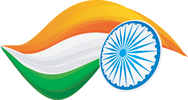 India Flag PNG Transparent vector clipart free downloads