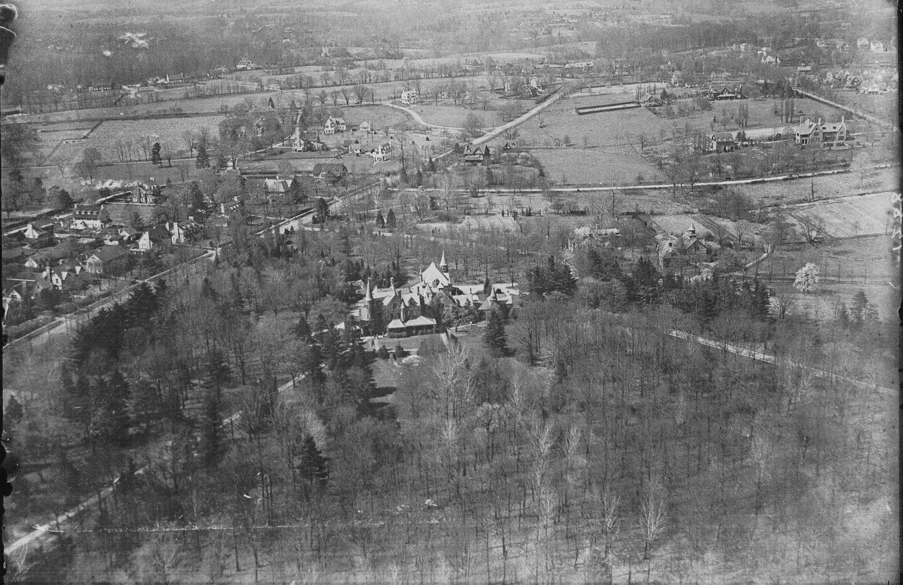 Pa Wynnewood Maybrook Aerial Maybrook Aerial Landscape