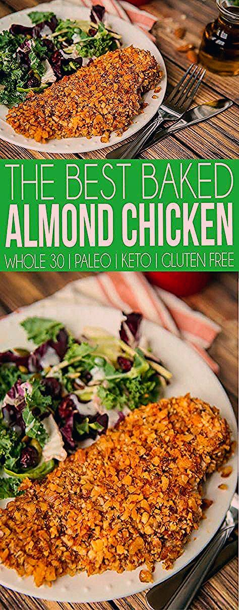 Photo of The Best Baked Almond Chicken Recipe – Play Party Plan
