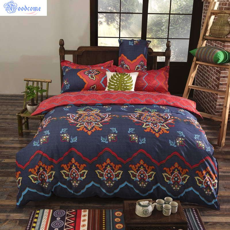 home d cor on a budget Moodcome Boho Bedding Linens Bedspread For Wedding  Bohemian Mandala Duvet Cover Noble Bedding Set 4 Pieces Twin Full Queen  King. home d cor on a budget Moodcome Boho Bedding Linens Bedspread For