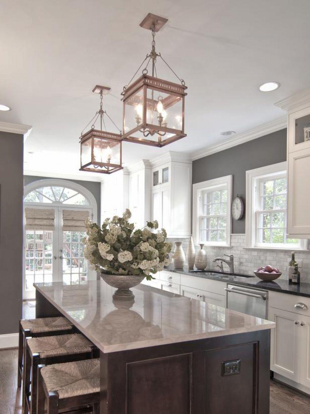 classic kitchen pendant lights Google Search White