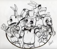 Print And Color Five Nights At Freddys Google Search