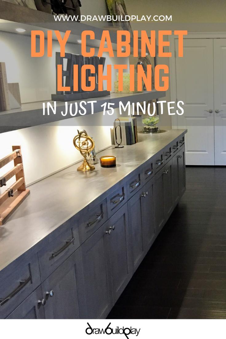 Diy Under Cabinet Lighting Kitchen Under Cabinet Lighting Under
