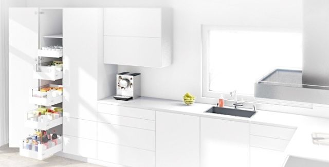 Ergonomiczna Kuchnia Jak Ja Zaprojektowac Nowoczesne Kuchnie Projekty Forum Meble Kuchenne Kuch Larder Unit Kitchen Furniture Design Kitchen Units