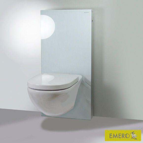 Geberit Monolith Sanitärmodul für Wand-WC Glas weiß Badezimmer