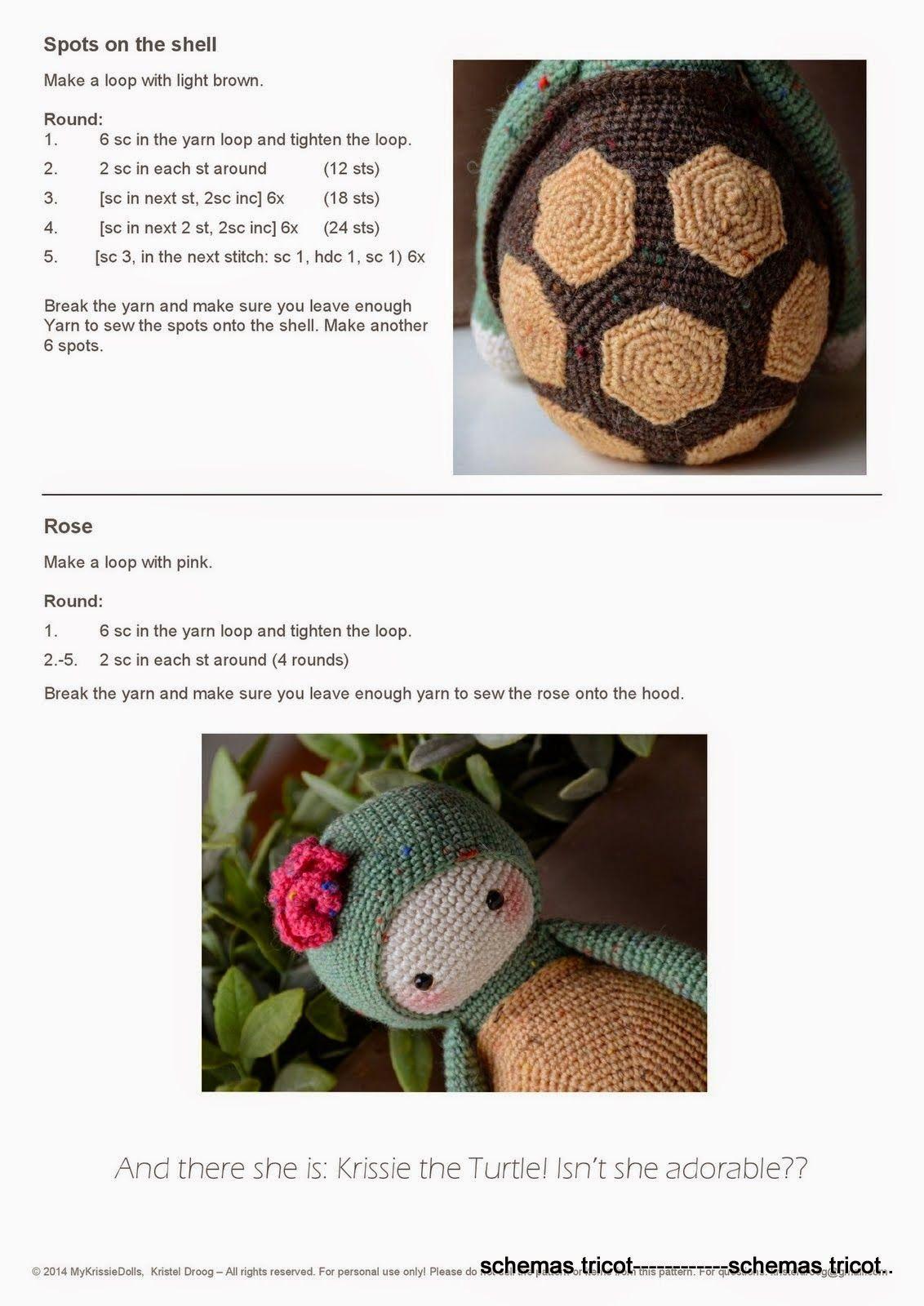 Album Archive - A6 - lalylala tortuga   Crochet y dos agujas ...