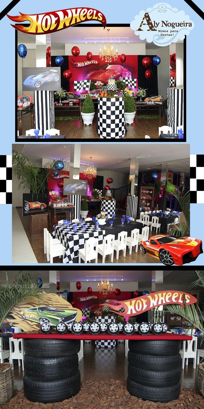 Festa hot wheels william birthday party pinterest - Decoracion para cumpleanos ...