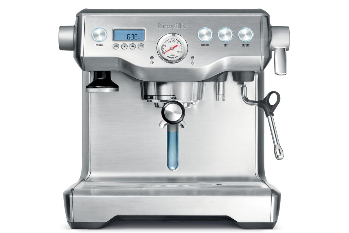 Breville dual boiler espresso machine from harvey norman