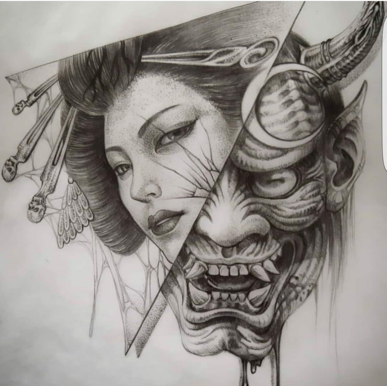 Pin By Svetozar Zapryanov On Geisha Samurai Tattoo Design Japanese Tattoo Geisha Tattoo Design