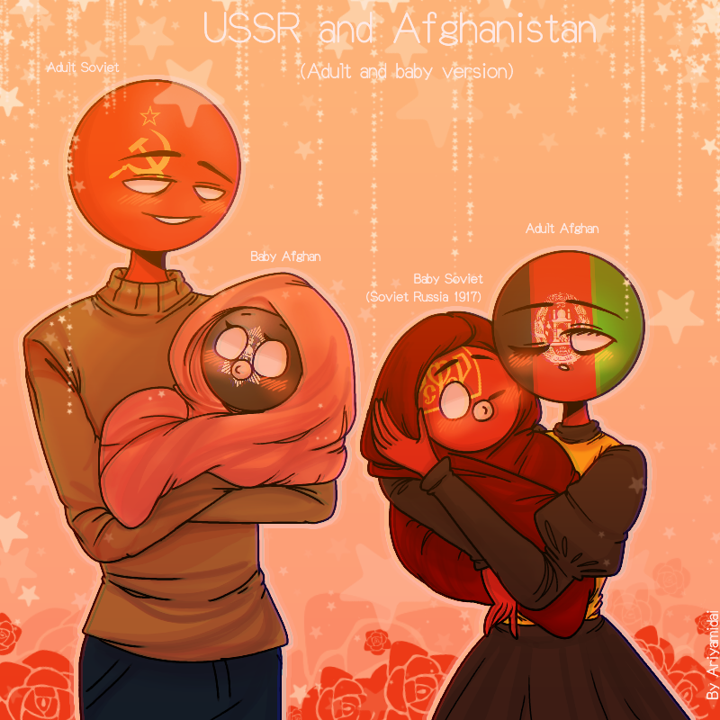 countryhumans : Countryhumans: USSR x Afghanistan ...