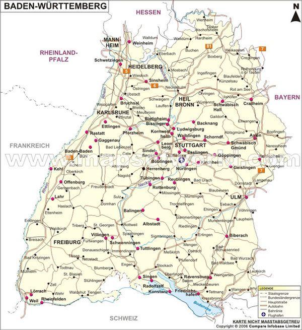 landkarte deutschland baden württemberg Baden Württemberg Karte, landkarte baden württemberg | Landkarte