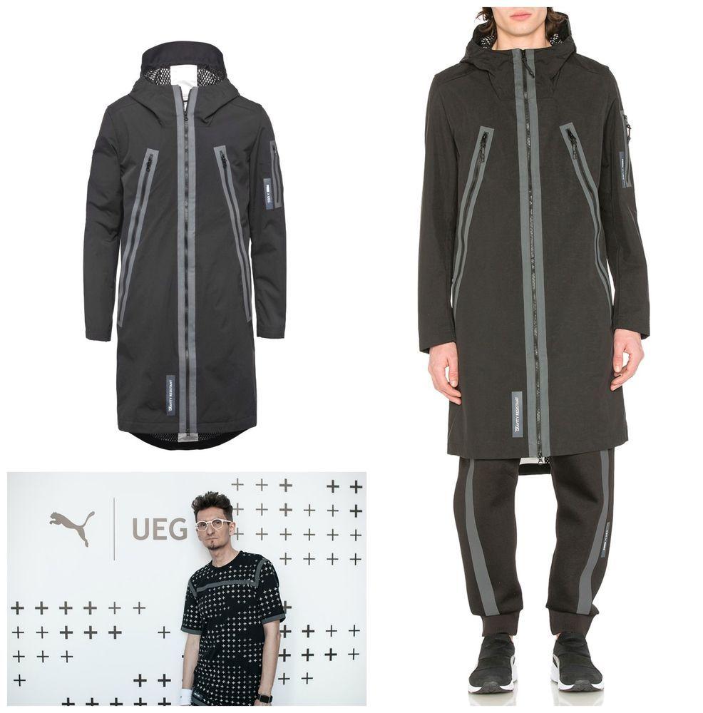 20c0f6fdd43b PUMA x UEG Hooded Parka Long Jacket Coat Black 571716-01 Men s Medium New   400. Available now on our eBay and Amazon shops.  PUMA  Parkas  Jacket   Coat  UEG ...