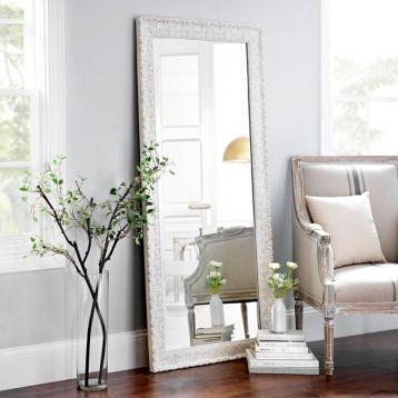 Kirkland S Cream Mirrors Floor Mirror Home Decor