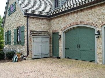 French country shutter paint Colors | French Country Garage Doors ...