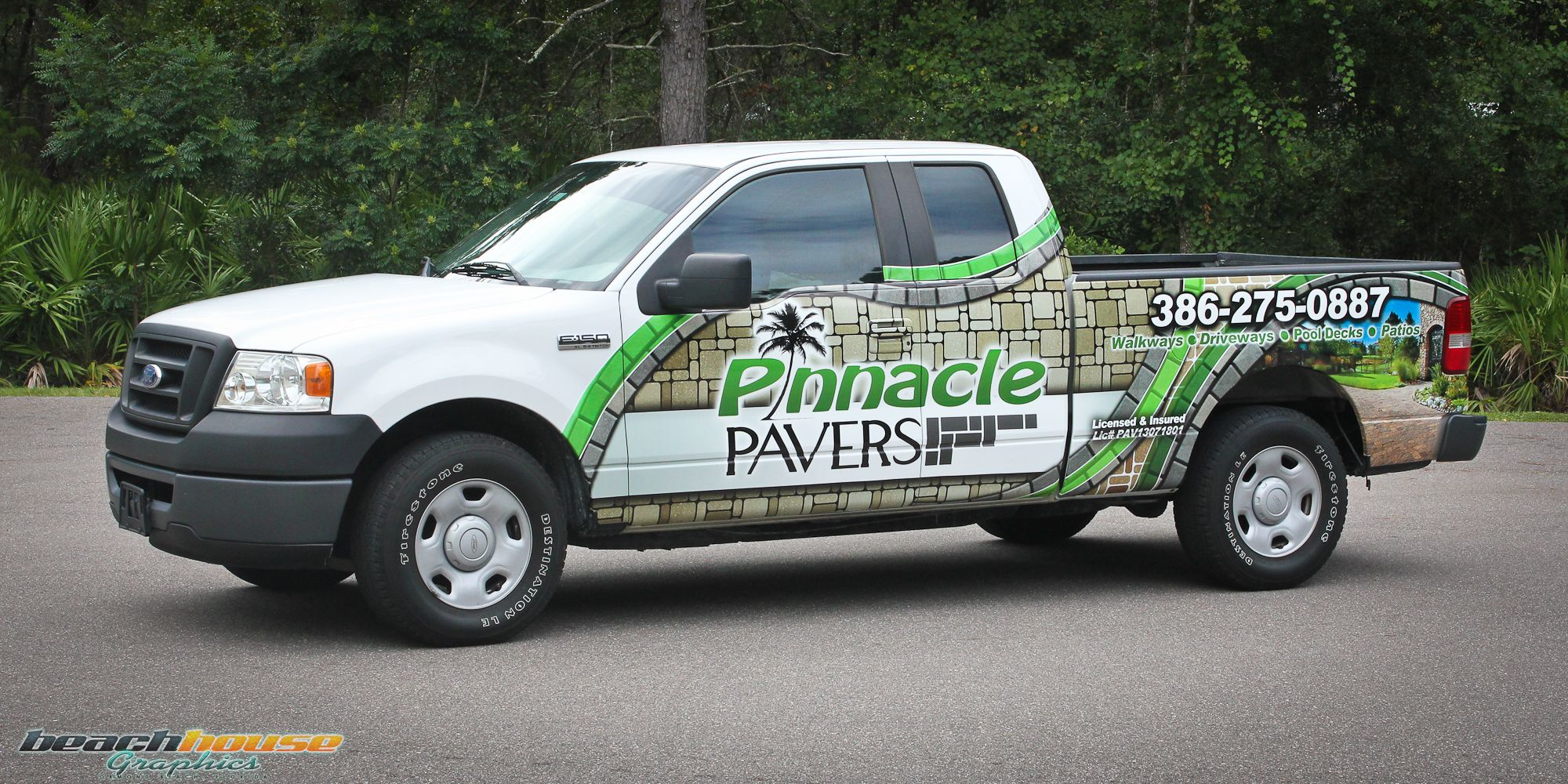 Central Florida Vehicle Wraps Truck Graphics Vinyl Wrap