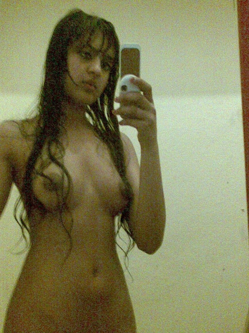 Teen mirror selfie girl indian