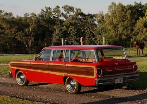 Style Bargain 1964 Ford Falcon Squire Wagon 1964 Ford Falcon